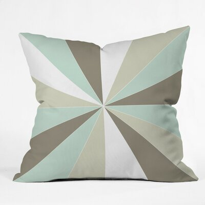 Ament Champagne Outdoor Throw Pillow Size: 18 H x 18 W x 5 D
