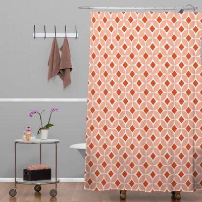 Brassfield Persimmon Shower Curtain