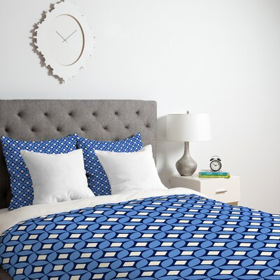 Blueberry Duvet Cover Size: King, Fabric: Lightweight