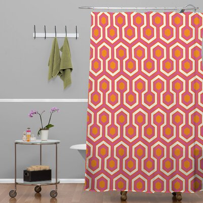 Ealey Zest Shower Curtain