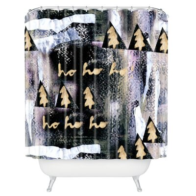 Borman A White Christmas Shower Curtain