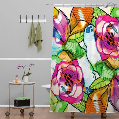 Fleener Fantasy Garden Shower Curtain
