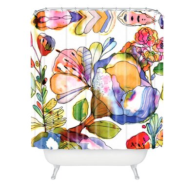 Dinges Blossom Shower Curtain