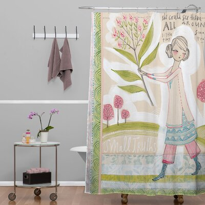 Donmoyer Dantini Small Truths Shower Curtain