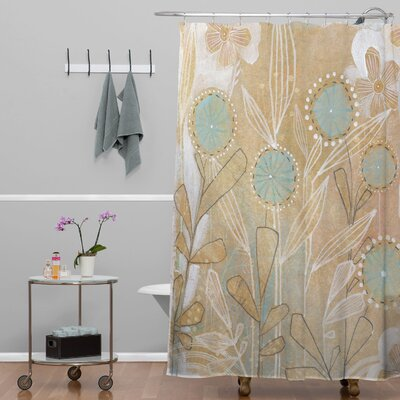 Donmoyer Dantini Floral Shower Curtain