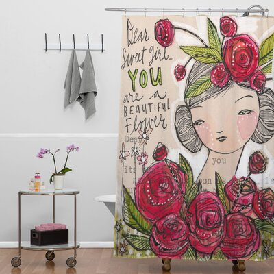 Donmoyer Dantini Dear Sweet Girl Shower Curtain