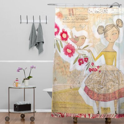 Donmoyer Dantini The Secret To Happiness Shower Curtain