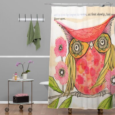 Donmoyer Miss Goldie Shower Curtain