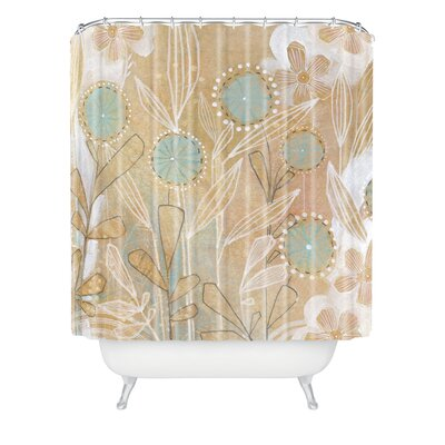 Donmoyer Dantini Floral Extra Long Shower Curtain