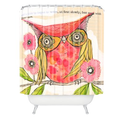 Donmoyer Miss Goldie Extra Long Shower Curtain