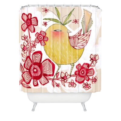 Donmoyer Dantini Sweetie Pie Extra Long Shower Curtain