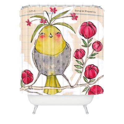 Donmoyer Dantini Sweetness and Light Extra Long Shower Curtain