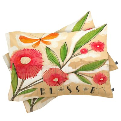 Donmoyer Blossom 1 Pillowcase Size: King