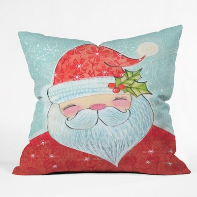 Donmoyer Sweet Santa Throw Pillow Size: 26 H x 26 W x 7 D