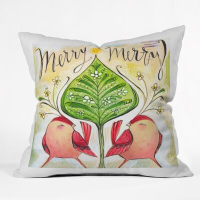 Donmoyer Merry Throw Pillow Size: 16 H x 16 W x 4 D