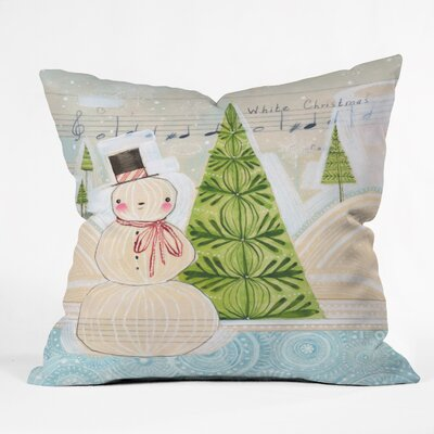 Donmoyer Christmas Throw Pillow Size: 16 H x 16 W x 4 D