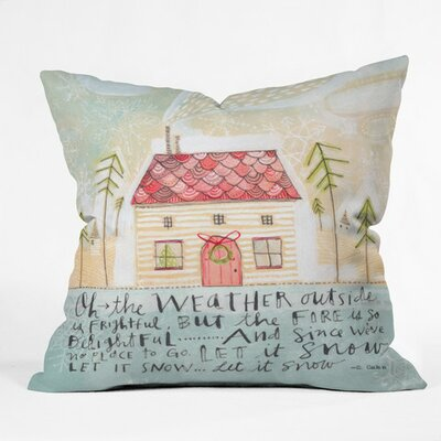 Donmoyer SnowThrow Pillow Size: 18 H x 18 W x 5 D