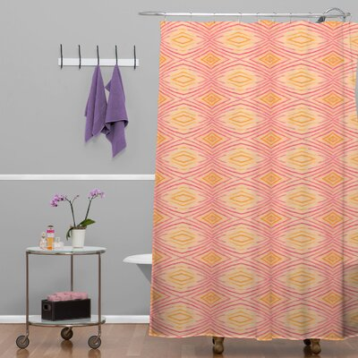 Donmoyer Dantini Ikat 4 Shower Curtain