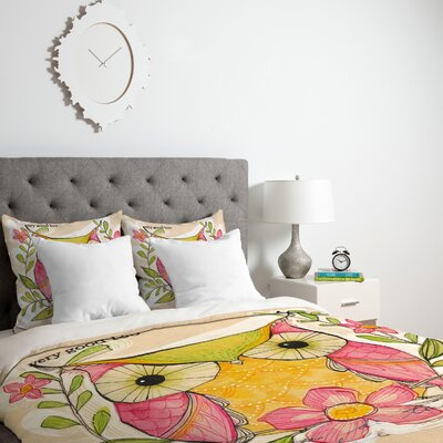 Donmoyer Duvet Cover Size: Queen, Fabric: Lightweight