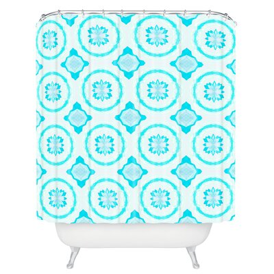 Bonilla Crystal Flowers Shower Curtain