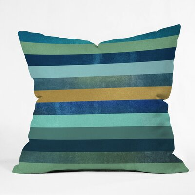 Jaquez Ocean Deep Outdoor Throw Pillow Size: 16 H x 16 W x 4 D