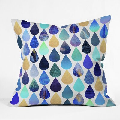 Benevides H2O Outdoor Throw Pillow Size: 16 H x 16 W x 4 D