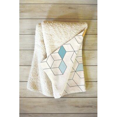 Daggett Keziah Day Fleece Throw Blanket Size: 80 L x 60 W