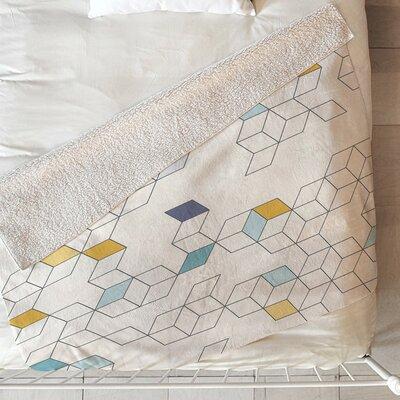 Daggett Keziah Day Fleece Throw Blanket Size: 60 L x 50 W