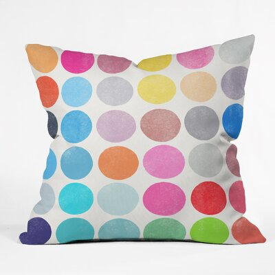 Indoor/Outdoor Throw Pillow Size: Large