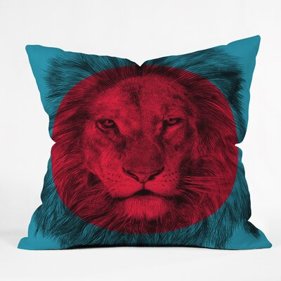 Firkins Wild Indoor/outdoor Throw Pillow Size: Large