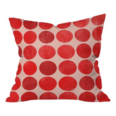 Gann Colorplay Throw Pillow Size: Large