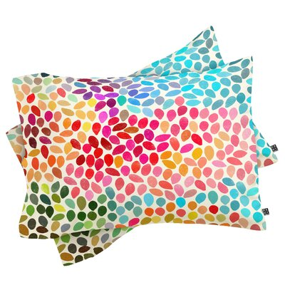 Canizales Rain 6 Pillowcase Size: King