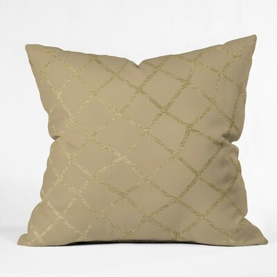 Gately Outdoor Throw Pillow Size: 16 H x 16 W x 4 D
