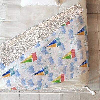 Diez Ahoy Hoy Fleece Throw Blanket Size: 80 L x 60 W
