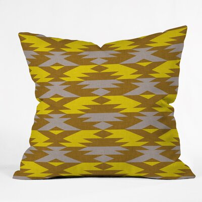 Deboer Bright Native Diamond Indoor/Outdoor Throw Pillow Size: Large