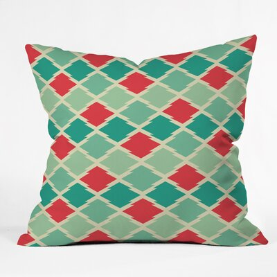 Crotty Gypsy Stars Throw Pillow Size: Small