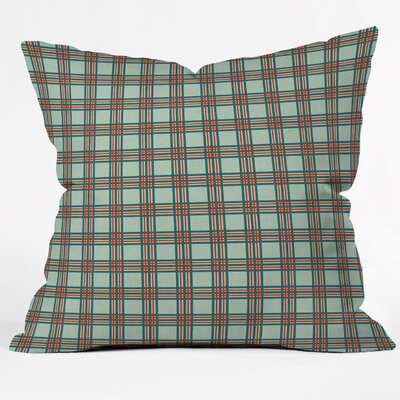 Bickley Box Plaid Throw Pillow Size: Large