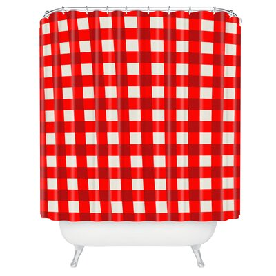 Furlong Gingham Shower Curtain