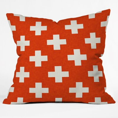 Freitag Vermillion Plus Throw Pillow Size: Large