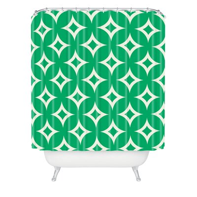 Gast Emerald Diamonds Shower Curtain