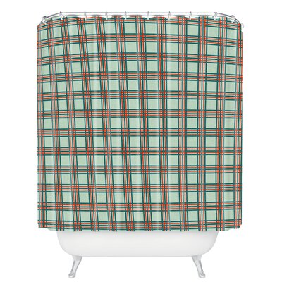 Grassi Box Plaid Shower Curtain
