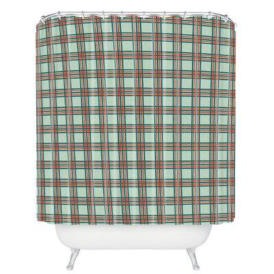 Grassi Box Plaid Shower Curtain