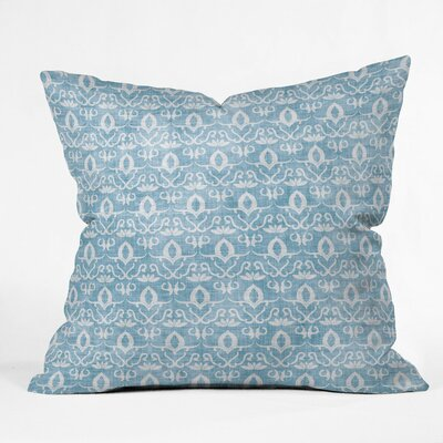 Flemings Widden Indigo Outdoor Throw Pillow Size: 16 H x 16 W x 4 D