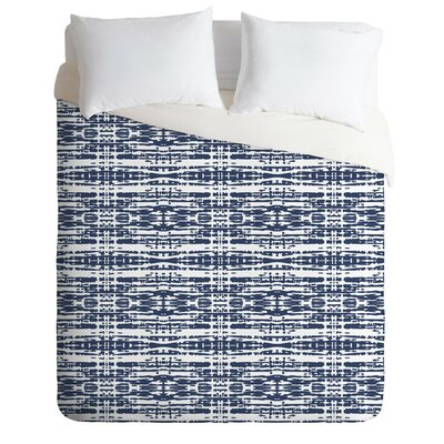Flemings Woven Duvet Cover Set Size: King