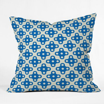 Albritton Four Dot Outdoor Throw Pillow Size: 16 H x 16 W x 4 D