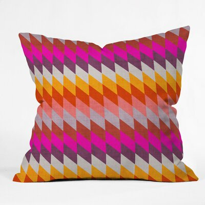 Foxwell Diamonds Morocco Outdoor Throw Pillow Size: 18 H x 18 W x 5 D