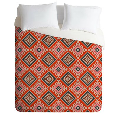 Flemings Bohemian Farmhouse Geo Duvet Cover Set Size: King