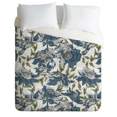 Cleland Summertime Evening Duvet Cover Set Size: King