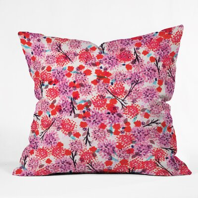 Indoor/Outdoor Throw Pillow Size: Small
