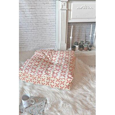 Dupuy Folklore Stars Square Floor Pillow Size: 23 H x 23 W x 6 D